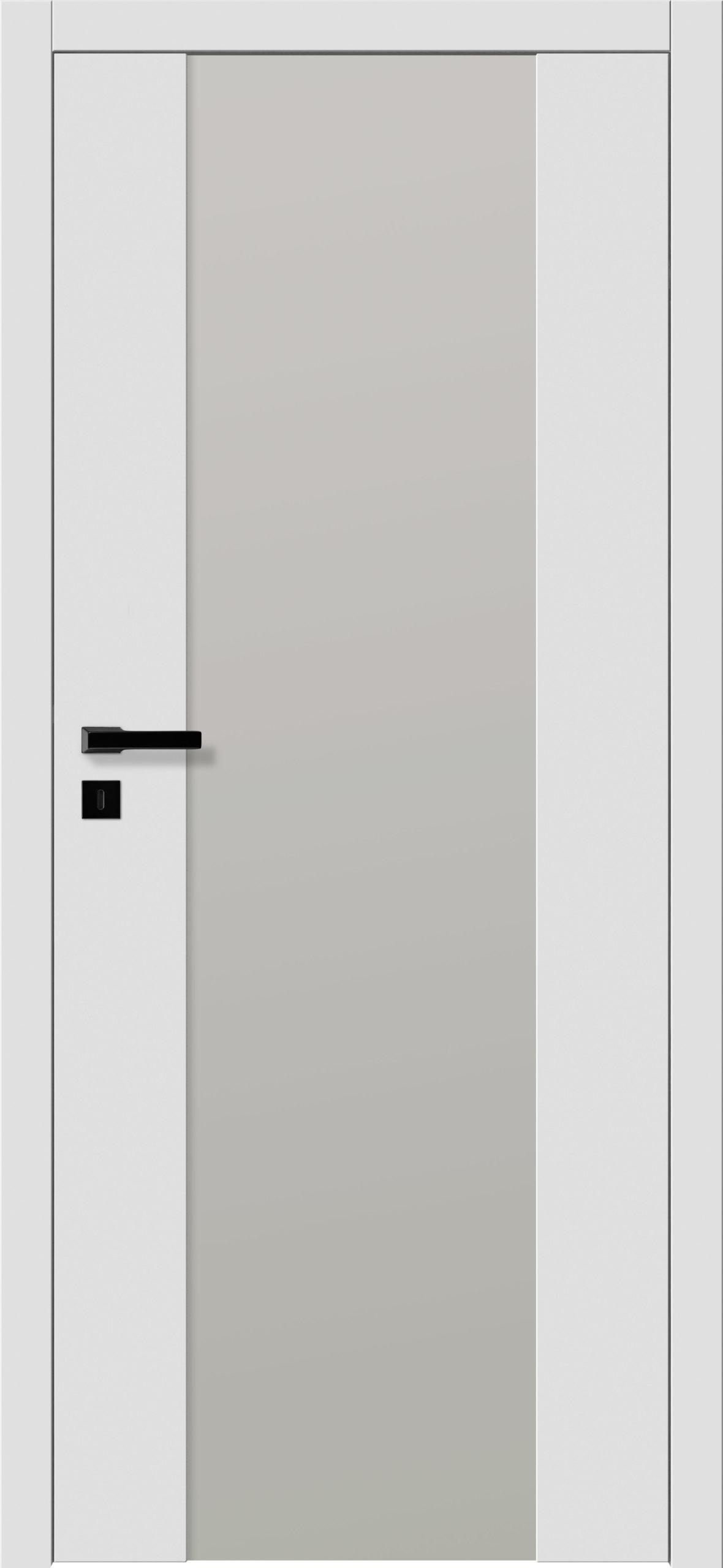 Focus A1 - gładki RAL - RAL 9016 - szklenie lacomat bezpieczny - ościeżnica bezprzylgowa regulowana drewniana (V)