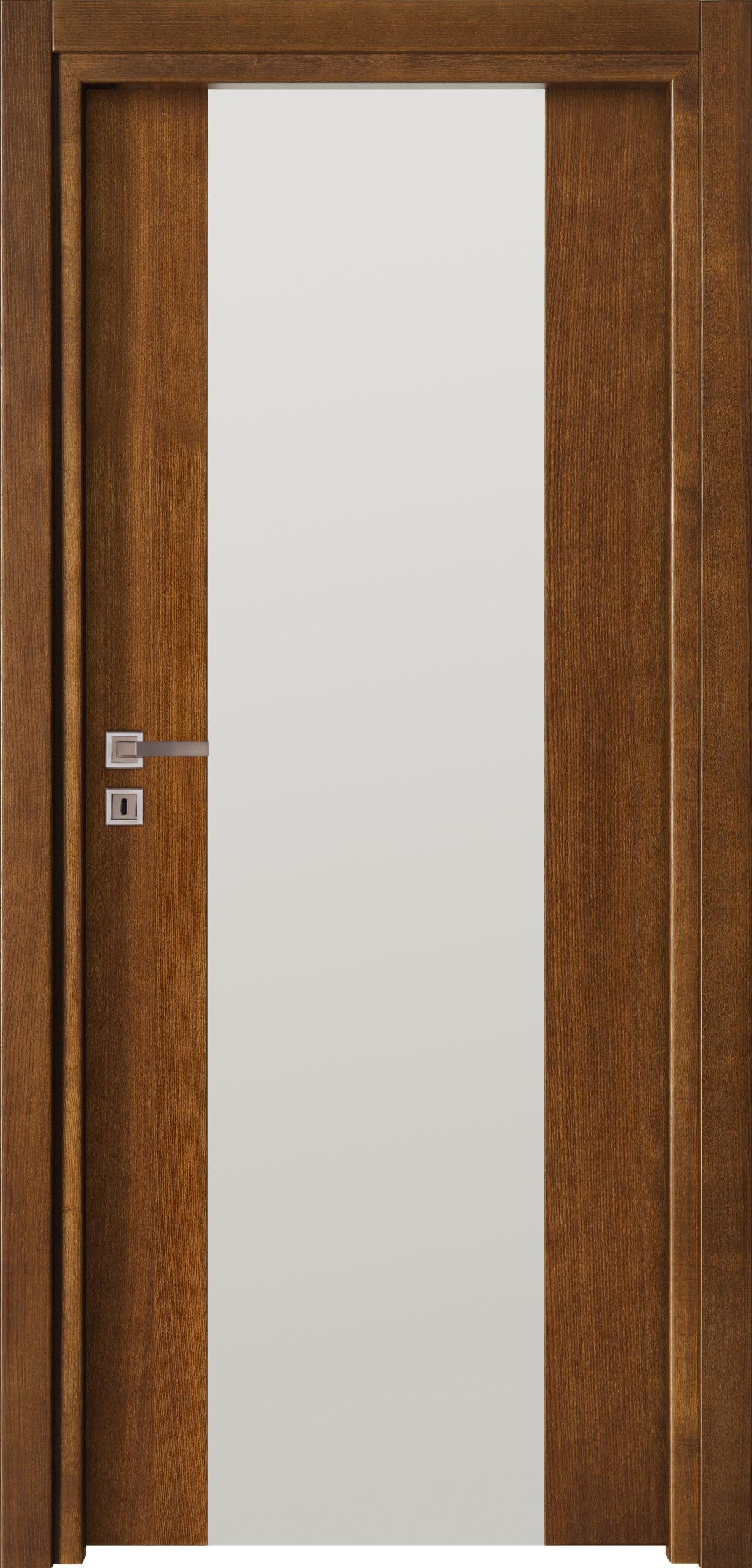 Focus A1 - jesion - jasny brunat - szklenie lacomat bezpieczny - ościeżnica przylgowa regulowana drewniana prosta (IIa)