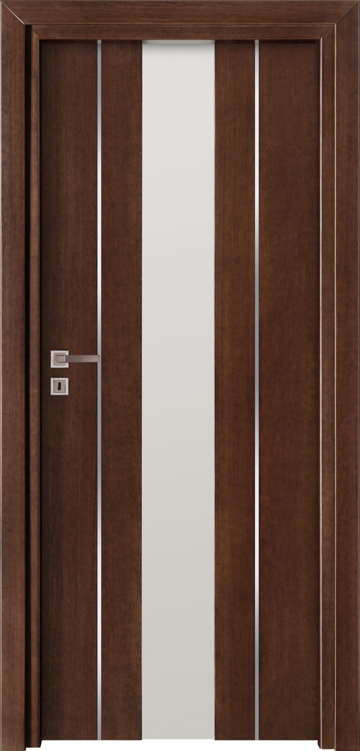 Focus A12 - jesion- jasny orzech - szklenie lacomat bezpieczny - ościeżnica przylgowa regulowana drewniana prosta (IIa)