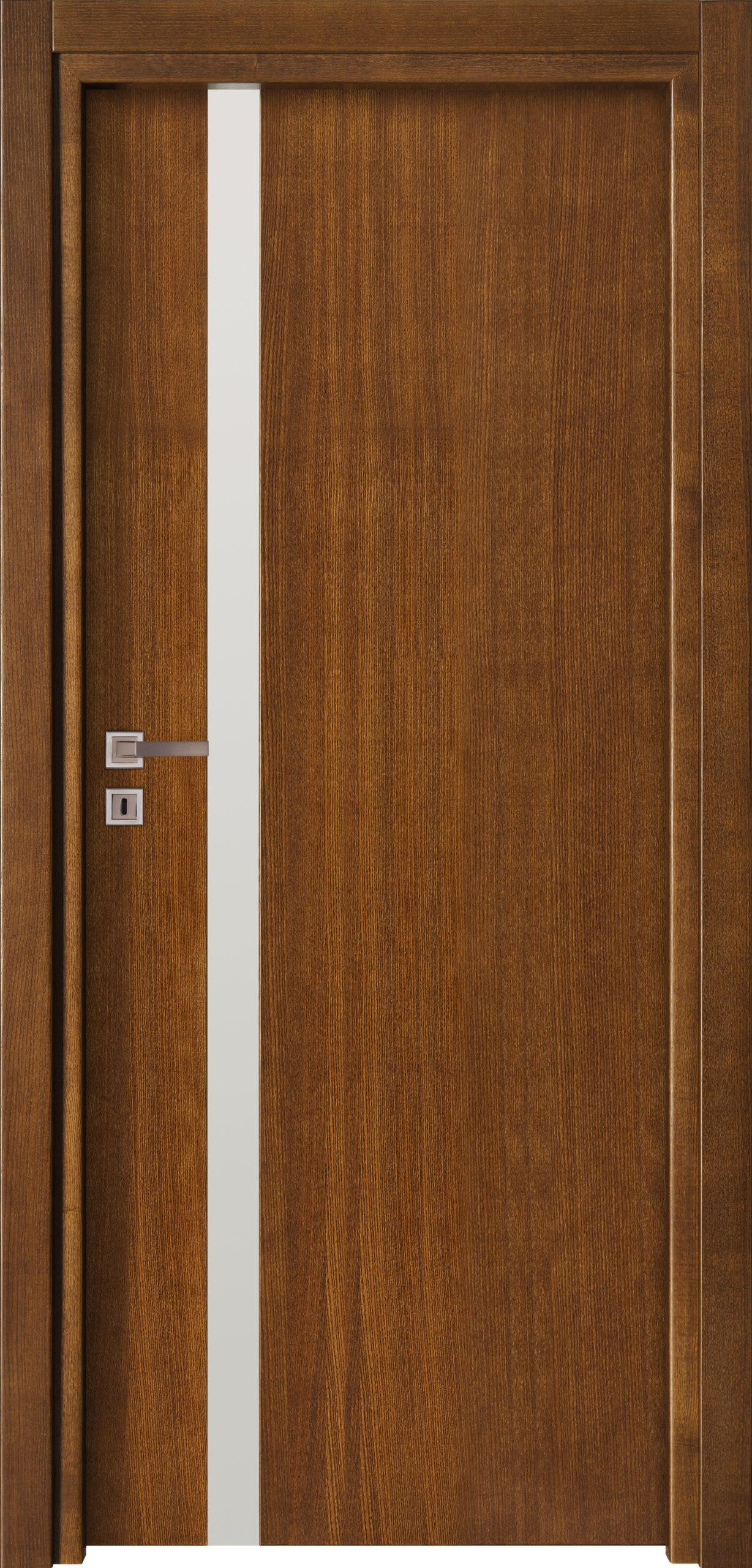 Focus A16 - jesion - jasny brunat - szklenie lacomat bezpieczny - ościeżnica przylgowa regulowana drewniana prosta (IIa)