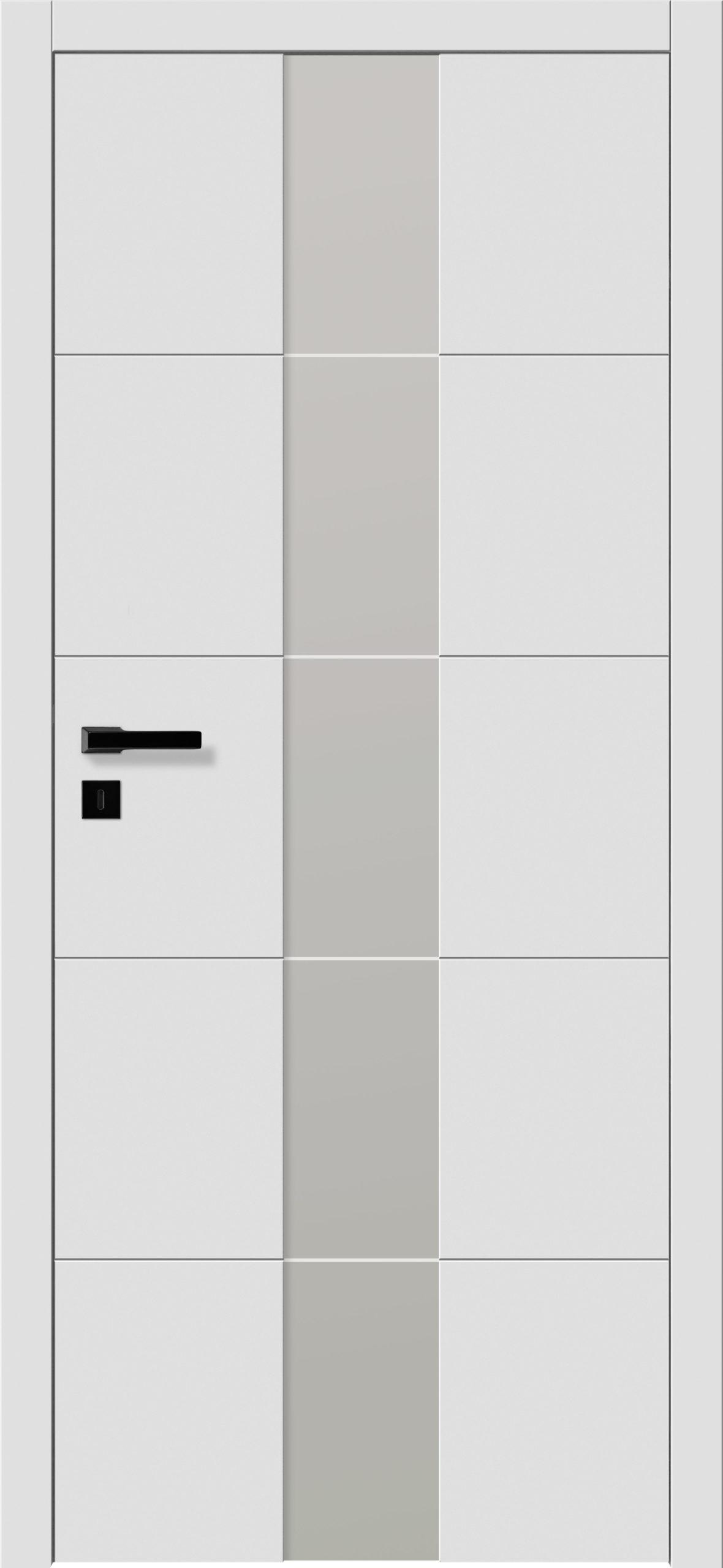 Focus A18 - gładki RAL - RAL 9016 - szklenie lacomat bezpieczny - ościeżnica przylgowa regulowana drewniana prosta (IIa)