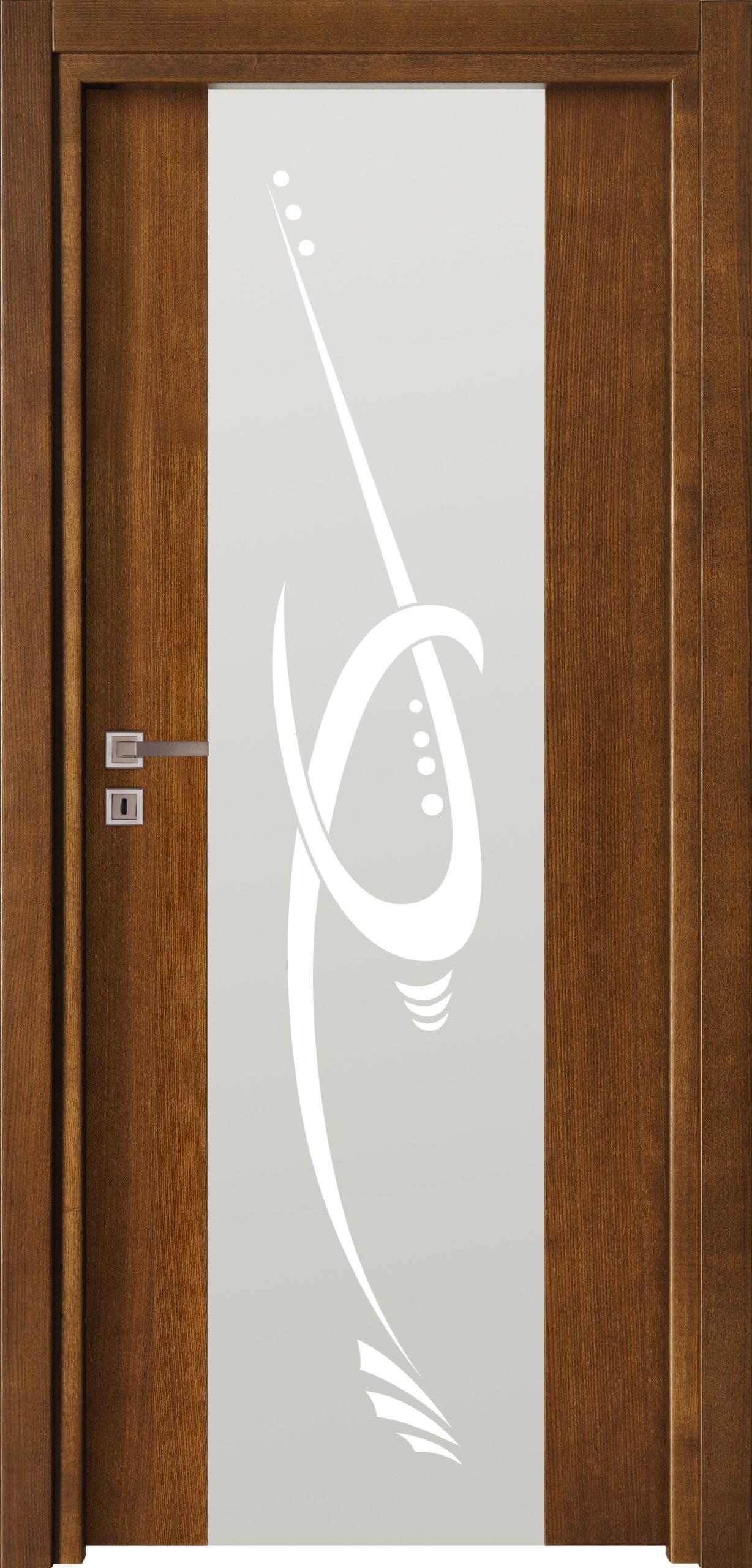Focus A2 - jesion - jasny brunat - szklenie lacomat bezpieczny - ościeżnica przylgowa regulowana drewniana prosta (IIa)