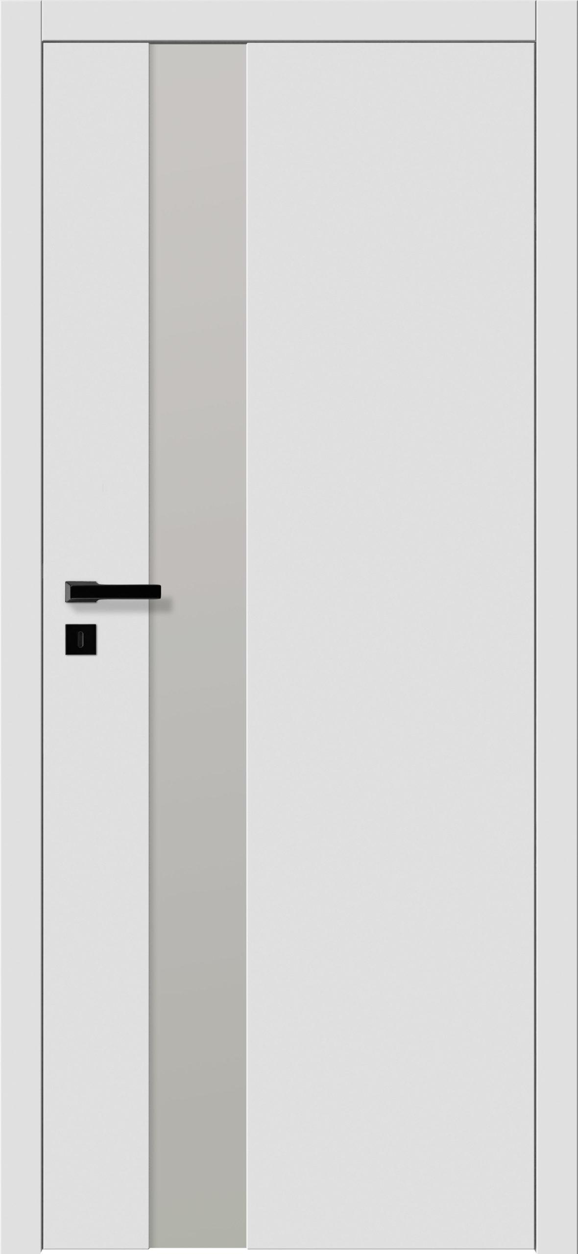 Focus A5 - gładki RAL - RAL 9016 - szklenie lacomat bezpieczny - ościeżnica bezprzylgowa regulowana drewniana (V)