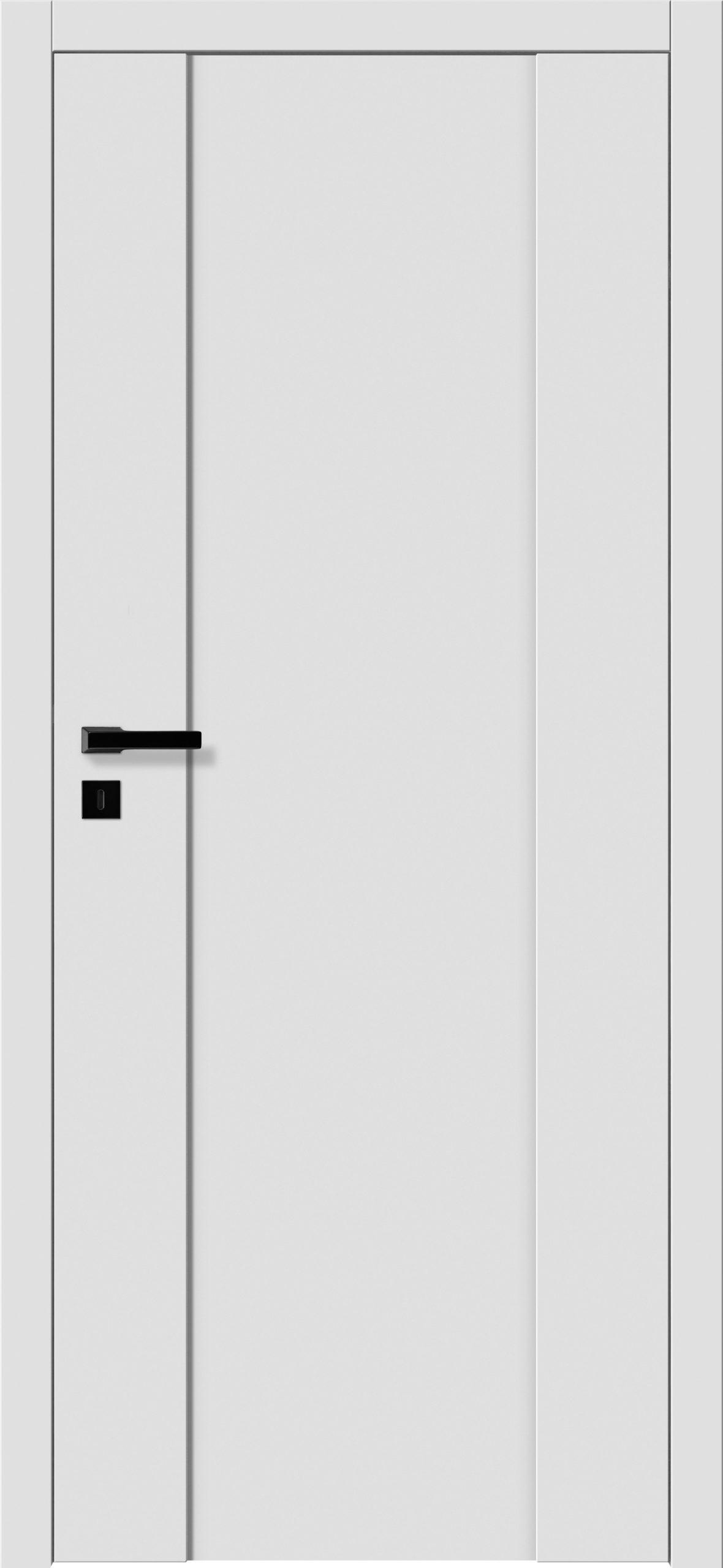 Focus A7 - gładki RAL - RAL 9016 - szklenie lacomat bezpieczny - ościeżnica bezprzylgowa regulowana drewniana (V)