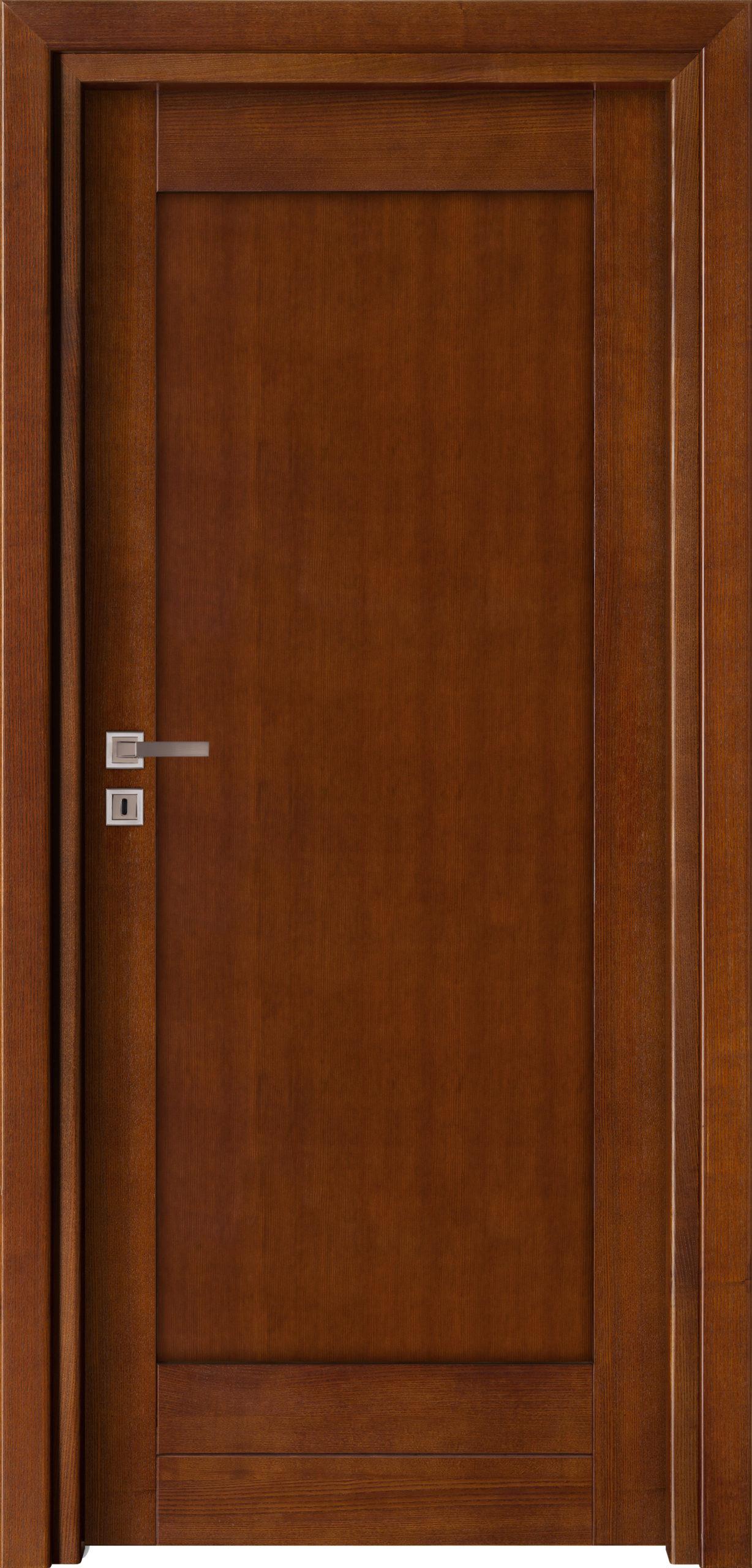 Sevilla D3 - jesion - ciemny calvados - szklenie lacomat bezpieczny - ościeżnica przylgowa regulowana drewniana prosta (IIa)
