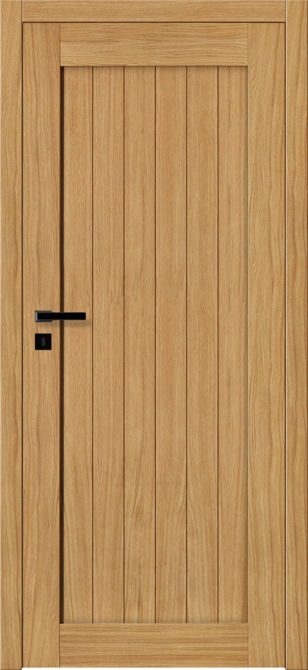 Sevilla E1 - dąb - lakier bezbarwny - szklenie lacomat bezpieczny - ościeżnica bezprzylgowa regulowana drewniana (V)