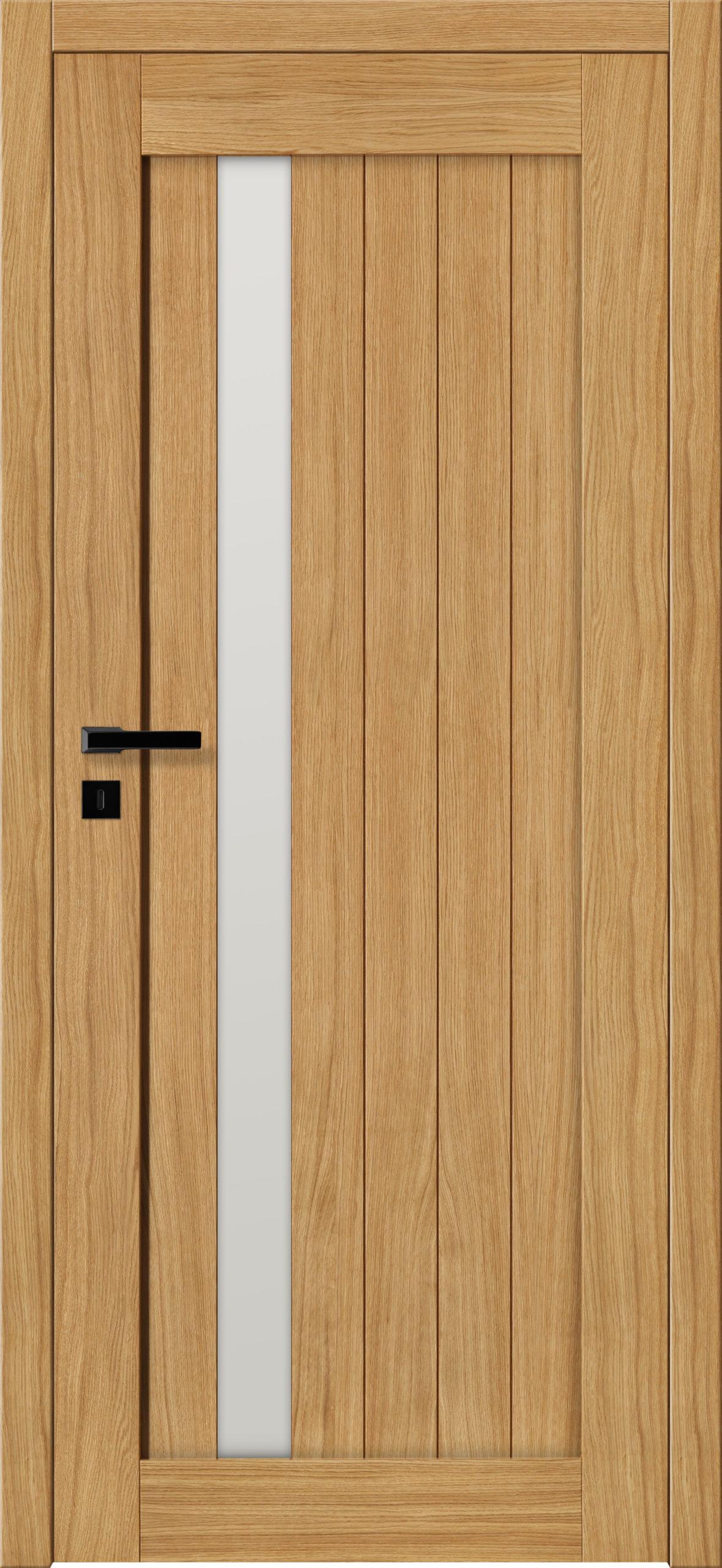 Sevilla E2 - dąb - lakier bezbarwny - szklenie lacomat bezpieczny - ościeżnica bezprzylgowa regulowana drewniana (V)
