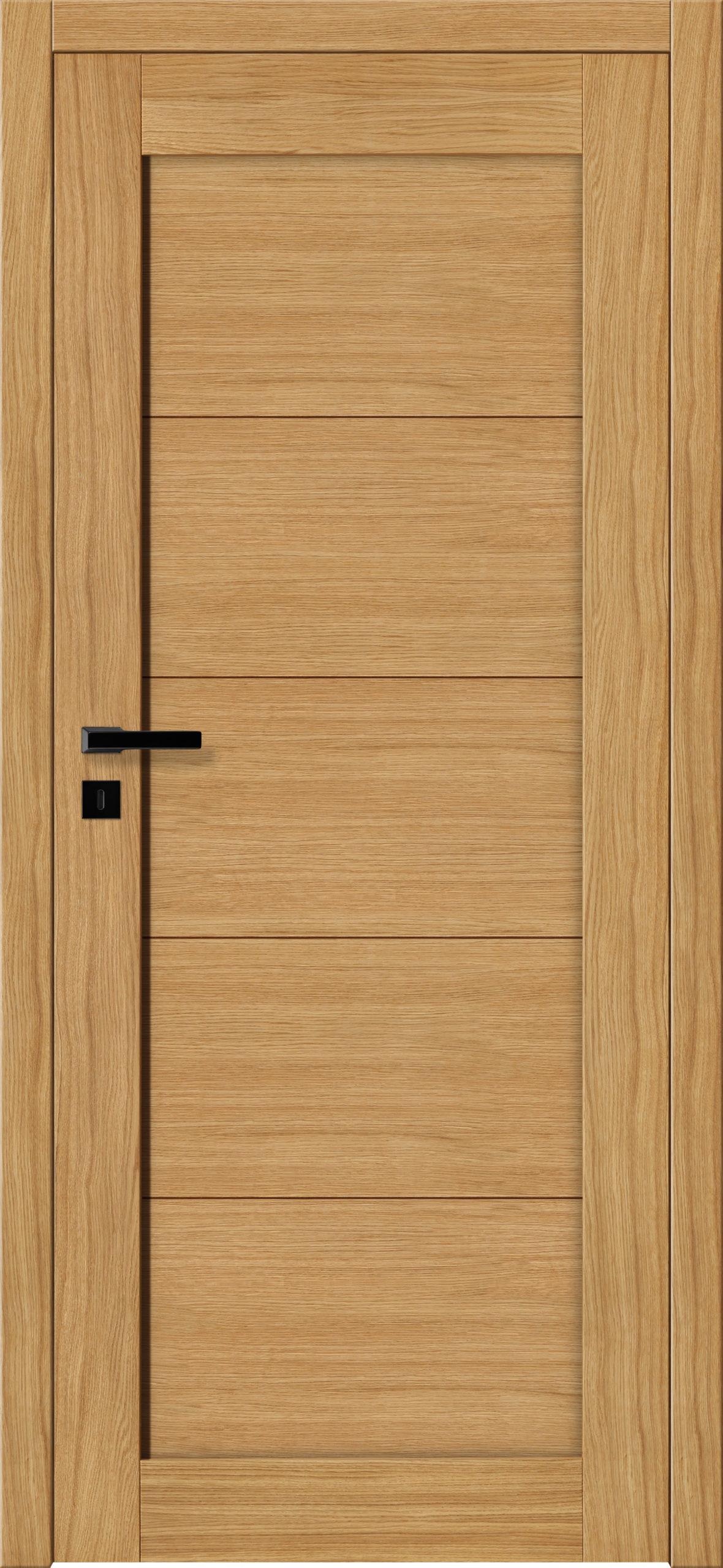 Sevilla E3 - dąb - lakier bezbarwny - szklenie lacomat bezpieczny - ościeżnica bezprzylgowa regulowana drewniana (V)