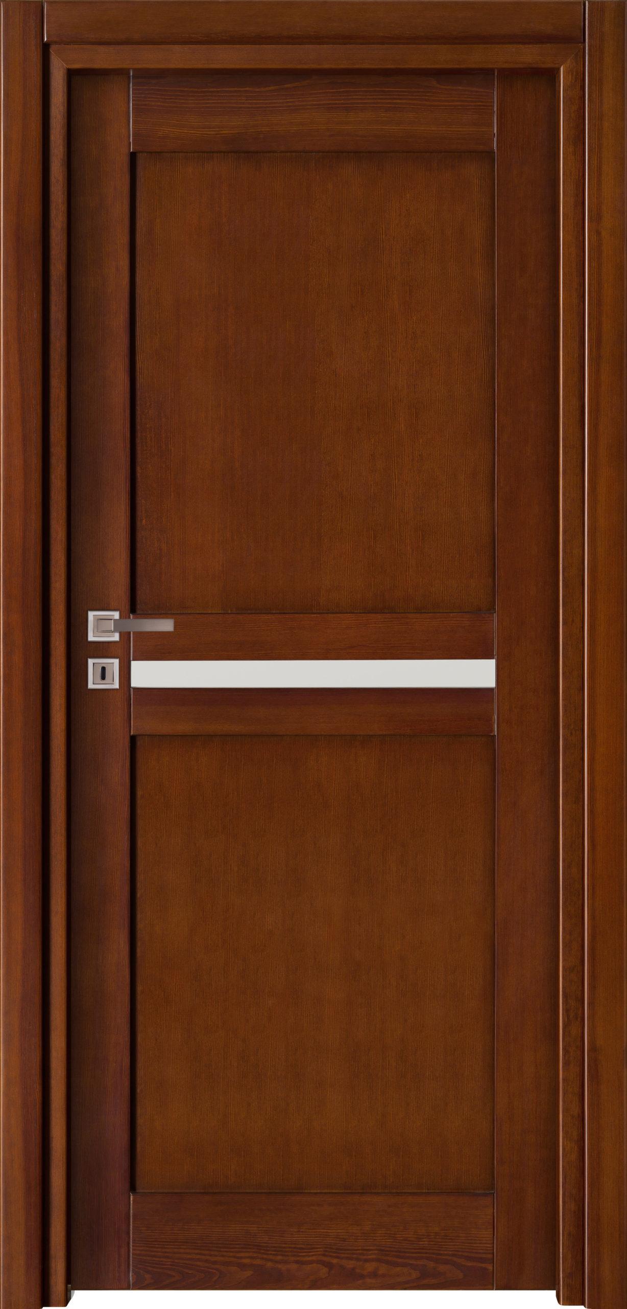 Tanger A3 - jesion - ciemny calvados - szklenie lacomat bezpieczny - ościeżnica przylgowa regulowana drewniana prosta (IIa)