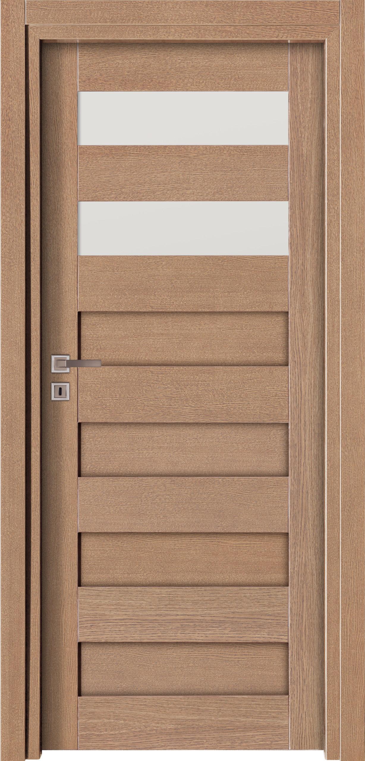 Vigo A3 - jesion - szary - szklenie lacomat bezpieczny - ościeżnica przylgowa regulowana drewniana prosta (IIa)