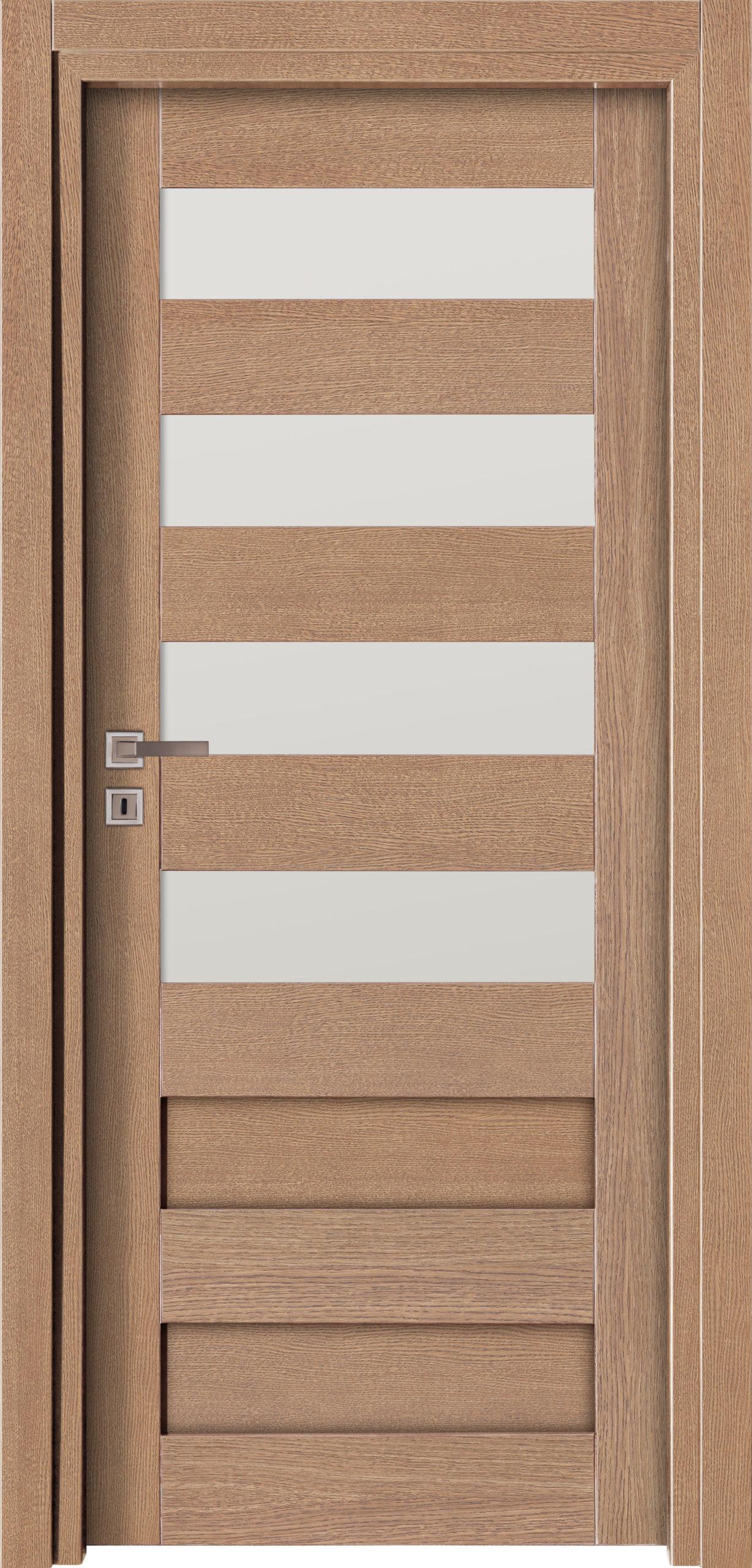 Vigo A5 - jesion - szary - szklenie lacomat bezpieczny - ościeżnica przylgowa regulowana drewniana prosta (IIa)